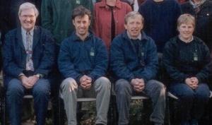 Peter Kerley, Sally, John, Tim 2001