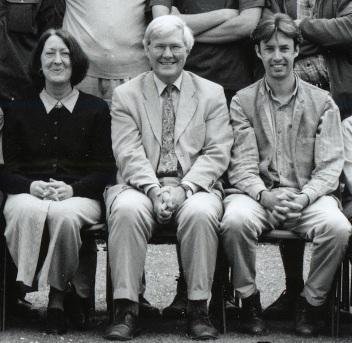 Brigid Stacey, John Parker, Tim Upson