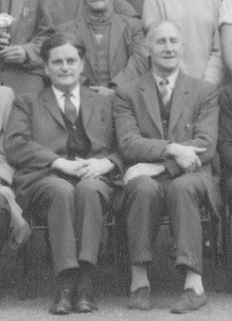 Bob Younger (left), Horticulturalist