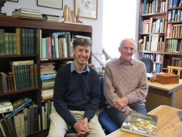 Dr Tim Upson and Prof Donald Pigott, 2013
