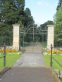 Historic wrought-iron Gates