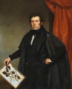 Henslow with Herbarium sheet
