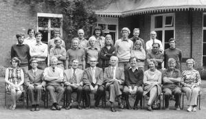 PS13 Staff photo,1977