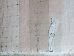 New wall